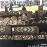 Feria del Bulevar: Maderas talladas y caladas