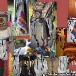 Artesanías en lana en la Feria del Bulevar