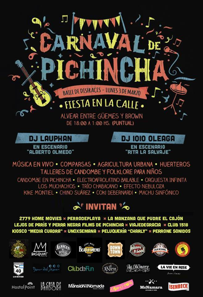 Actividades del Carnaval de Pichincha en la edición 2014.