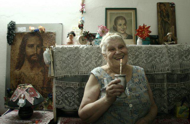 Rita la salvaje en su pensión
