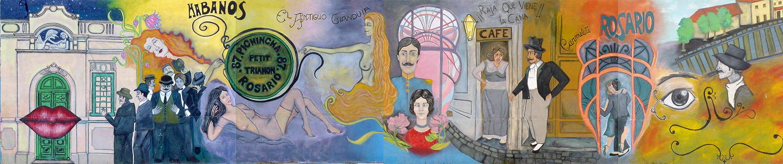 Mural del Barrio Pichincha, por el Grupo 6