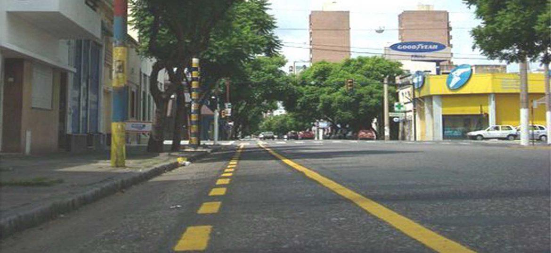 Ciclovía de calle Salta