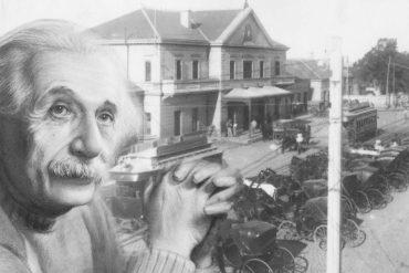Albert Einstein en Pichincha