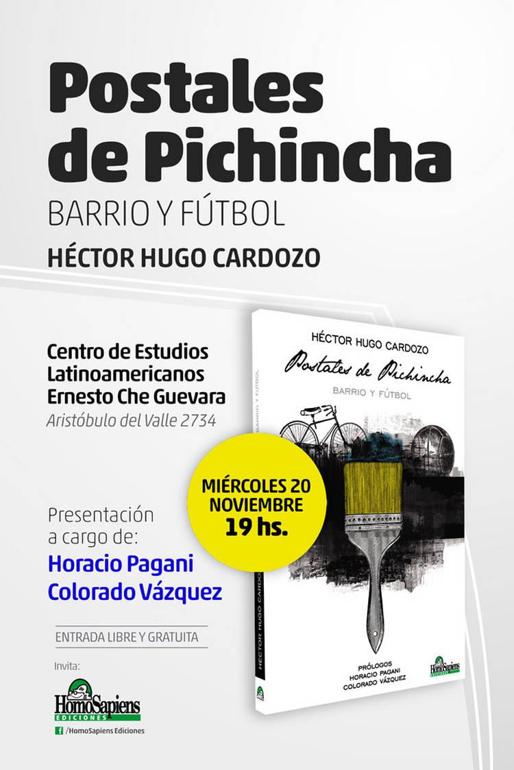 Presentación del libro Postales de Pichincha