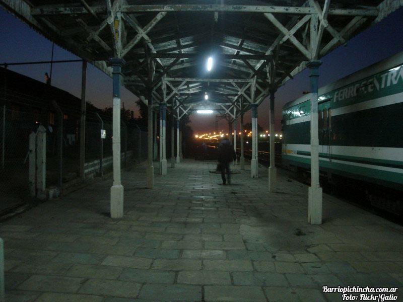 Andenes de la estación