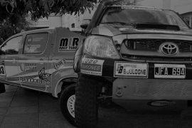 Pilotos rosarinos del Dakar 2014
