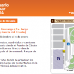Rally Dakar 2014 - Parque de Descarga