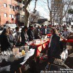 Feriantes del Mercado Retro La Huella