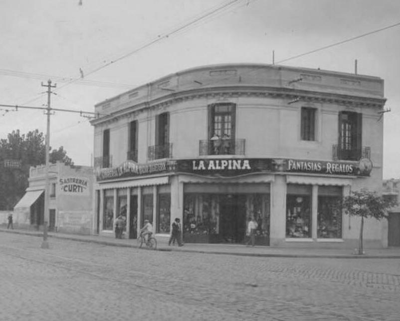 Bazar La Alpina (año 1974)